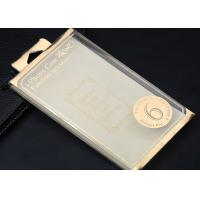 Buy cheap Gold / Silver Foil Plastic Packaging Boxes , Clear Iphone 6 Case Box from wholesalers
