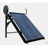 Buy cheap Customized Non-pressurized Cooper Coil Solar Power Water Heater With Vacuum Tube from wholesalers