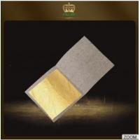 Buy cheap Hot sale new style Chinese 24k pure gold leaf sheets 4.33*4.33 CM 98%-99% Gold Content for facial mask and Edible from wholesalers