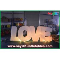 Buy cheap Giant Letter Lighted Love Sign Number For Advertisement / Party from wholesalers