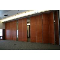 Buy cheap Sliding Aluminium Track Soundproof Office Partition Walls / Movable Room Dividers from wholesalers