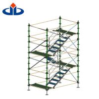 Buy cheap Layher Ringlock Scaffolding System Cantilever Stair Tower Scaffolding product