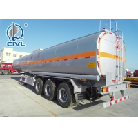 Buy cheap 2 Axle / 3 Axle Bulk Cement Semi Trailer Trucks With 30m³ - 68m³ Capacity from wholesalers
