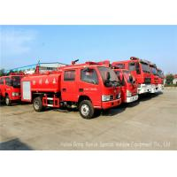 Buy cheap Water Tanker Fire Fighting Truck For Fire Service With Water Pump And Fire Pump from wholesalers