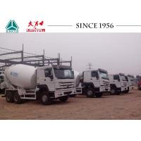 Buy cheap 10 Wheeler HOWO Concrete Mixer Truck 5-15 M³ Capacity With SC16 Rear Axle from wholesalers