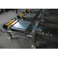 Buy cheap Stainless Steel Plate and Frame Filter Press Machine product
