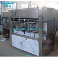 Buy cheap Automatic linear type oil gel filling machine for olive cooking sunflower oil in bottle from wholesalers