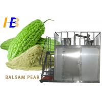 Buy cheap Balsam Pear Powder Food Pulverizer Machine With Liquid Nitrogen Freezing from wholesalers