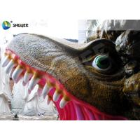 Buy cheap Amusement Park  Dinosaur Cabin Movie Theater Equipments With 4 Seats product