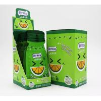 Quality 16g Sugar free mint candy / Green Orange Flavor with Vitamin C / portable sachat for sale