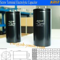 Buy cheap 300V 22000uF Capacitor Supplier Screw Mounted Terminal Aluminum Electrolytic Capacitor for E-Vehicle and E-car from wholesalers