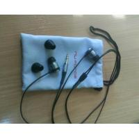 Buy cheap 8x12cm Soft Blue Earphone Carrying Case Silk Screen For Ipod Nano from wholesalers