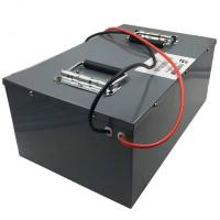Buy cheap 24v rechargeable li ion battery 40ah 60ah 80ah with bms for solar wind power energy storage from wholesalers