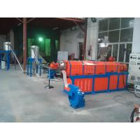 Buy cheap Filler Masterbatch Plastic Granules Making Machine Twin Screw Extruder CE SGS from wholesalers