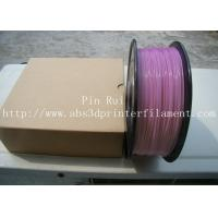 Quality High Quality 3D Printer Filament PLA 1.75mm 3mm For White To Purple Light change for sale