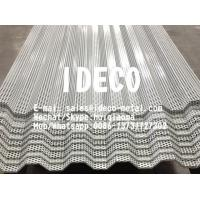 Buy cheap Metal Corrugated Perforated Sheet Screen for Profiled Roof/Decking/Wave Form Wall Cladding/Sun Shading from wholesalers