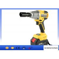 Buy cheap Powerful electric torque impact wrench , rechargeable electric wrench from wholesalers