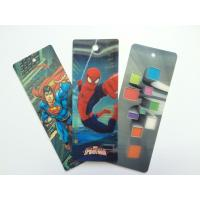 Buy cheap PET 3D Lenticular Personalized Book Marks With CMYK Printing 0.65 mm Thick from wholesalers