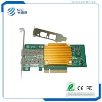 Buy cheap F1002E 10Gigabit  Intel 82599ES Dual-port Fiber Ethernet PCIe NIC Network Server Adapter from wholesalers