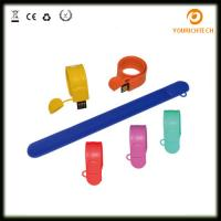 Buy cheap Promotional Waterproof Rubber Usb Sticks Silicone Wristband Pend rive, wristband from wholesalers