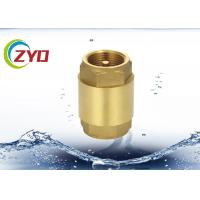 "Buy cheap Commercial Plumbing Brass Check Valve , 1/2"" - 4"" Horizontal Copper Check Valve from wholesalers"
