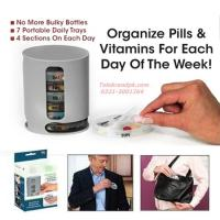 Buy cheap 7 - Day Medicine Pill Box Organizer from wholesalers