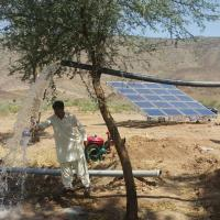 Buy cheap 4kw Solar Pv Water Pumping System / Solar Powered Water Pump Kit For Farming from wholesalers