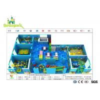 Buy cheap Colorful Theme Kids Indoor Play Centre , Toddler Play Zone For 3 - 15 Years Old from wholesalers
