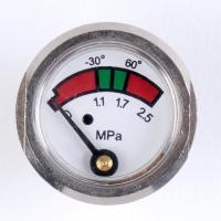 Buy cheap Chrome Plated Pressure Gauge Manometer , Brass Fire Extinguisher Components from wholesalers