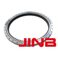 Buy cheap JINB crossed roller slewing ring bearing Thin-wall bearing swive bearing gear rings from wholesalers