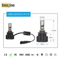 China LED replacement headlight bulb, Black Smart 9005 Led Headlight Kit , H10 Led Headlight Auto Led Lighting System on sale