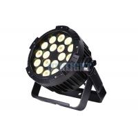 Buy cheap Warm White LED Par Can Light 18X15w Rgbwa 5 In 1 For Stage Performance from wholesalers