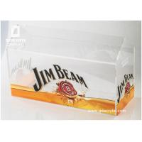Buy cheap Commercial Beer Acrylic Ice Bucket Liquor Bottle Stand With Advertising Graphic from wholesalers