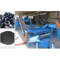 Buy cheap Rubber Crumb Waste Tire Recycling Plant Equipment Double Shaft Shredders from wholesalers