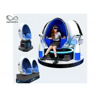 Buy cheap Electric Motion 9D VR Cinema Egg Shaped VR Motion Chair For Shopping Mall product