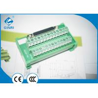 Buy cheap D-Sub Female Terminal Block 16-22 AWG Support Most Of PLC Output Interface from wholesalers