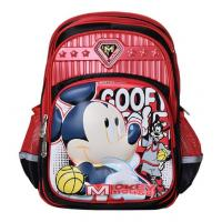 Buy cheap Original Disney Mickey Mouse and Minnie Mouse Backpack Kid's School Bag from wholesalers