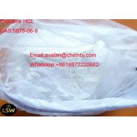 China CAS 5875-06-9 Long Acting Local Anesthetic Pain Killer Drugs Proparacaine Hydrochloride / Proparacaine HCL on sale