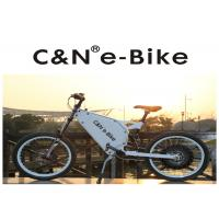 Lithium Battery Electric Motor Mountain Bike , High Speed Cruise Distance E Bike