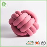 Buy cheap China Fashion Home Decoration Pink PP Cotton Knot Cushion Pillow from wholesalers