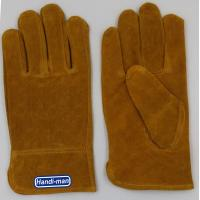 Buy cheap 10 inch Cow Split Leather Working Gloves from wholesalers