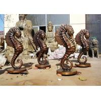 Buy cheap Customized Size Bronze Statue For Garden Decoration Hippocampus Design product