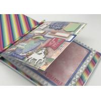 Buy cheap Birthday Children'S Binder Album Photo Scrapbooking 20 Pages Or More 3D Die Cut from wholesalers