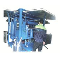 Buy cheap Raining Proof Type High Efficiency Vacuum Insulating Oil Purifier Machine for Power Plant Maintenance from wholesalers