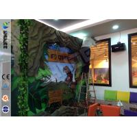 Buy cheap Stimulating Thriller 6D Movie Theater With Lightning / Rain Digital Special from wholesalers
