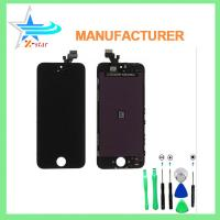 Buy cheap Cell Phone Iphone Touch Panel Replacement , iPhone 5 Front Panel from wholesalers