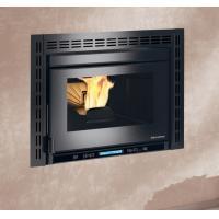 Build In Pellet Stove Fireplace Insert , Wood Burning Insert Stoves With Boiler