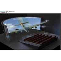 Buy cheap 5D Simulation Rider Cinema, Moive Simulator System With Bubble, Rain,Wind Special Effect product