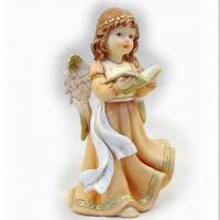 China New polyresin angel figurines home decoration on sale