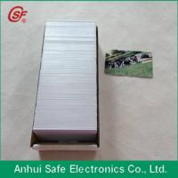 Buy cheap printable inkjet pvc card from wholesalers
